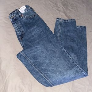 Topshop mom high waisted Tapered leg jeans New